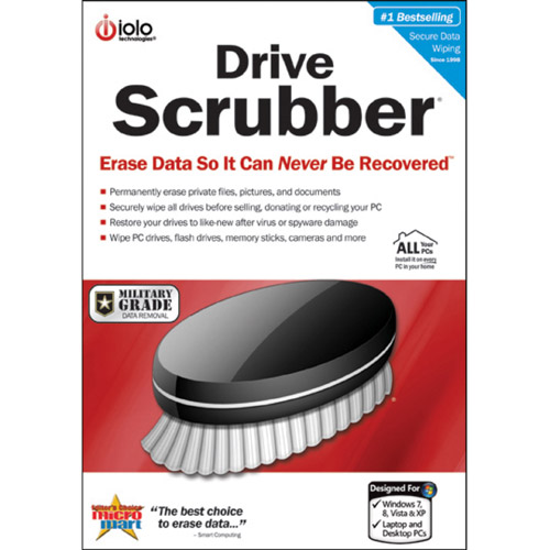 Iolo Drivescrubber (Windows) (Digital Code)