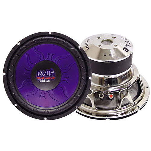 "Pyle Blue Wave 15"" 1400W High-Powered Subwoofer"