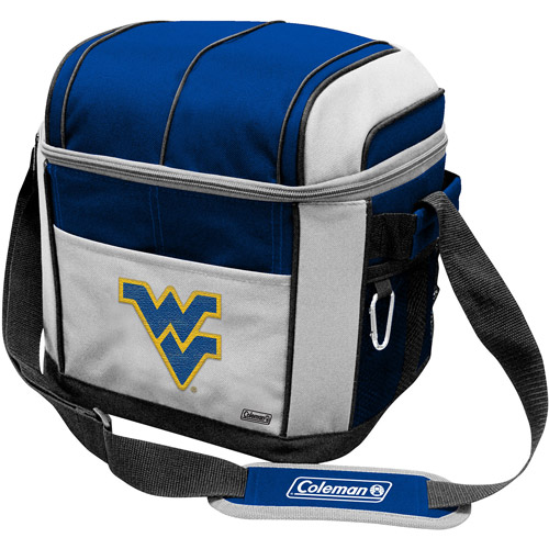 "Coleman 11"" x 9"" x 13"" 24-Can Cooler, West Virginia Mountaineers"
