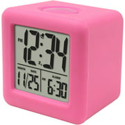 Equity by La Crosse Cube LCD Alarm Clock