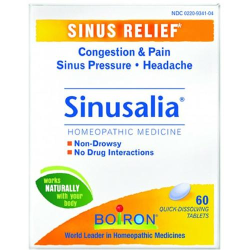 Boiron Sinusalia, Tablets 60 ea (Pack of 4)