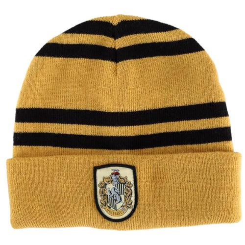 Harry Potter Hufflepuff House Knit Hat Costume Beanie Adult One Size