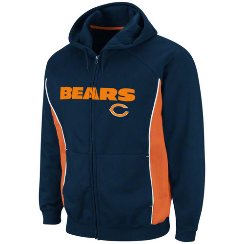 NFL - Chicago Bears Full Speed Break II Full-Zip Hooded Sweatshirt