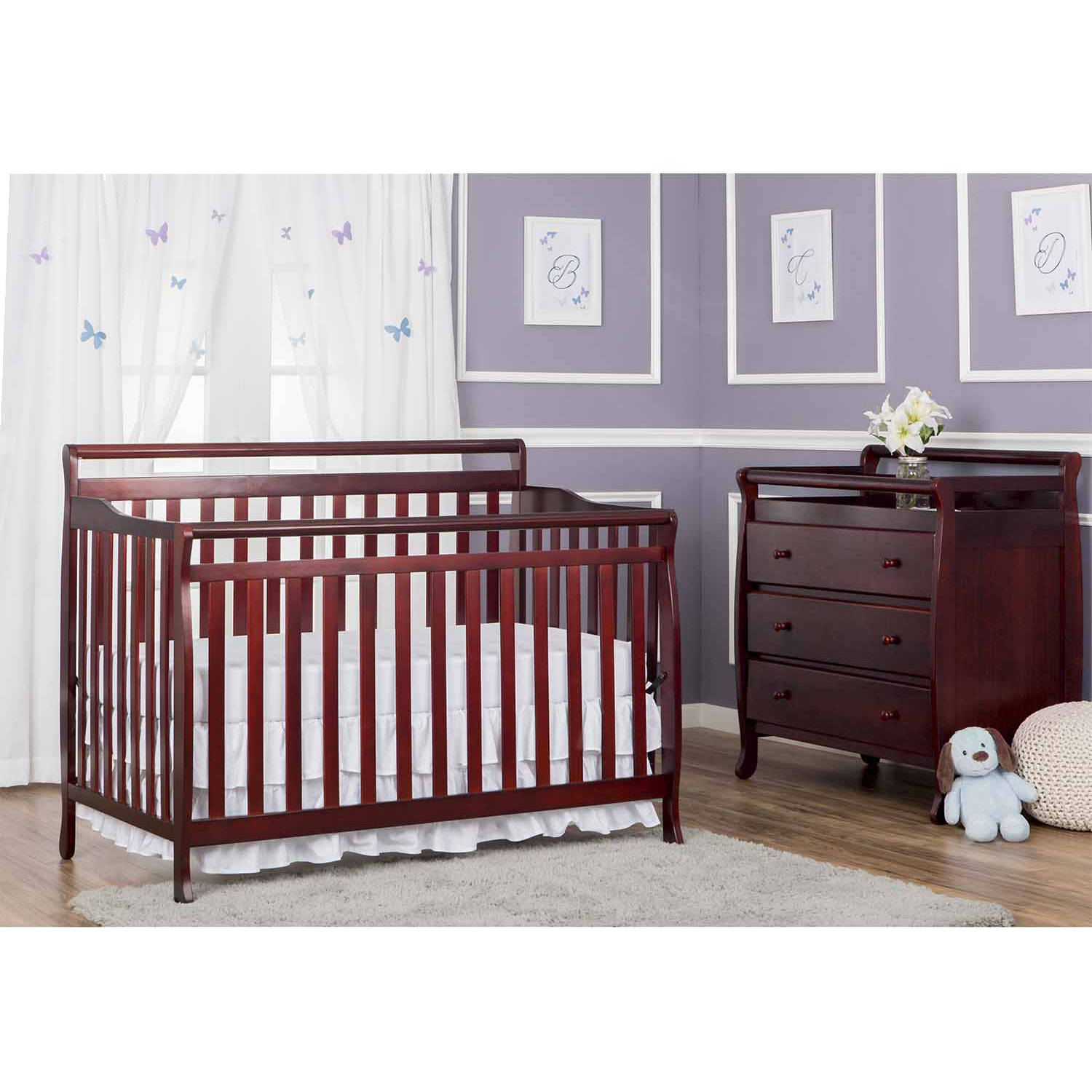 Dream On Me Liberty 5-in-1 Convertible Crib, Choose Your Finish