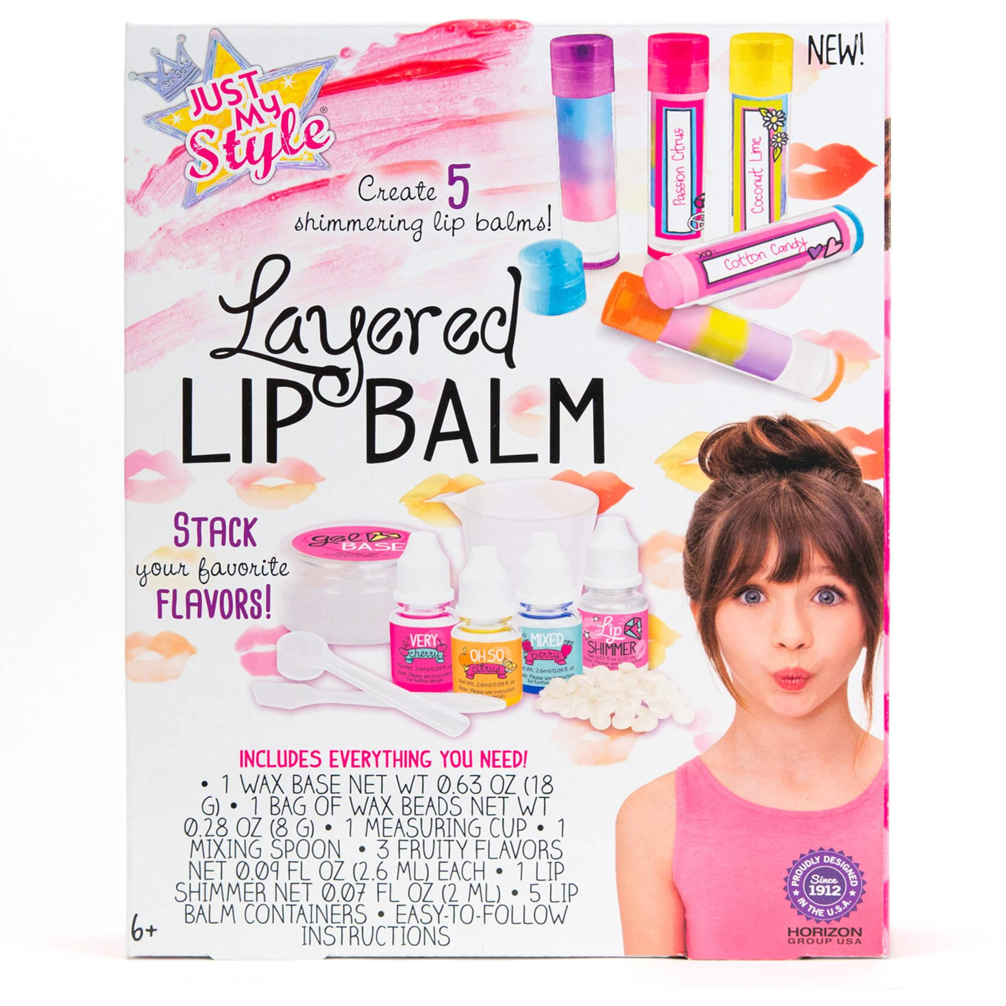 Just My Style Layered Lip Balm Kit by Horizon Group USA