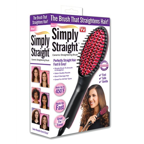 As Seen On TV Simply Straight Brush