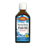 Carlson Labs The Very Finest Fish Oil Omega-3, Lemon, 6.7 Fl Oz.