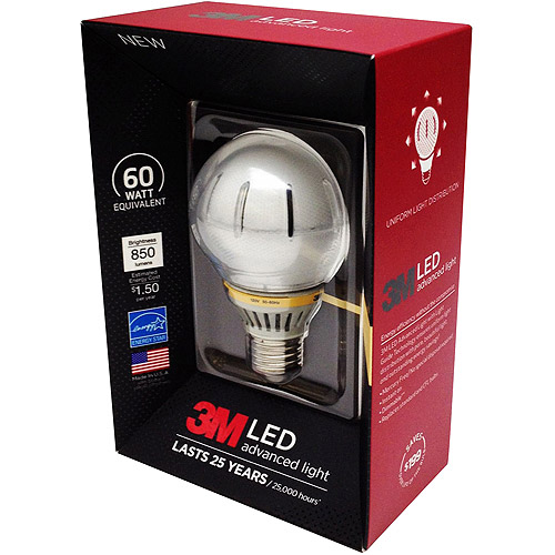 3M LED Advanced Soft White Light 60 Watt