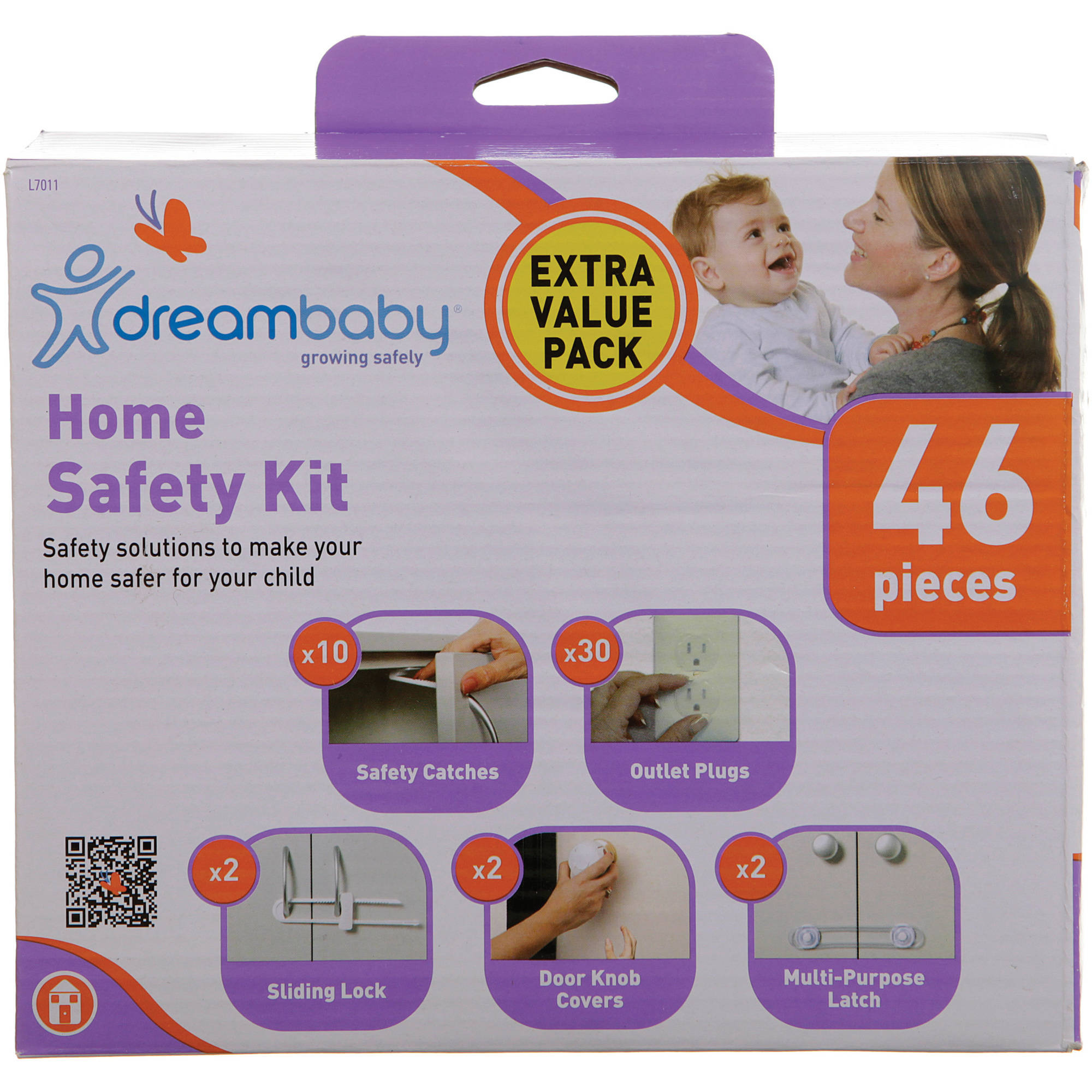 Dreambaby Home Safety Kit, 46 Pieces