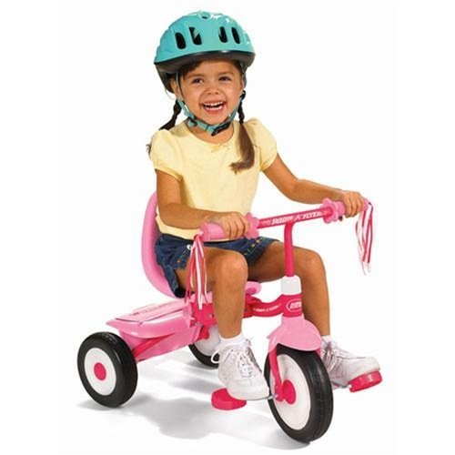 Radio Flyer Fold 2 Go Tricycle - Pink
