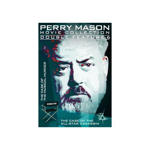 PERRY MASON-DOUBLE FEATURE-CASE OF THE MUSICAL MURDER/ALL-STAR ASSASSIN(DVD