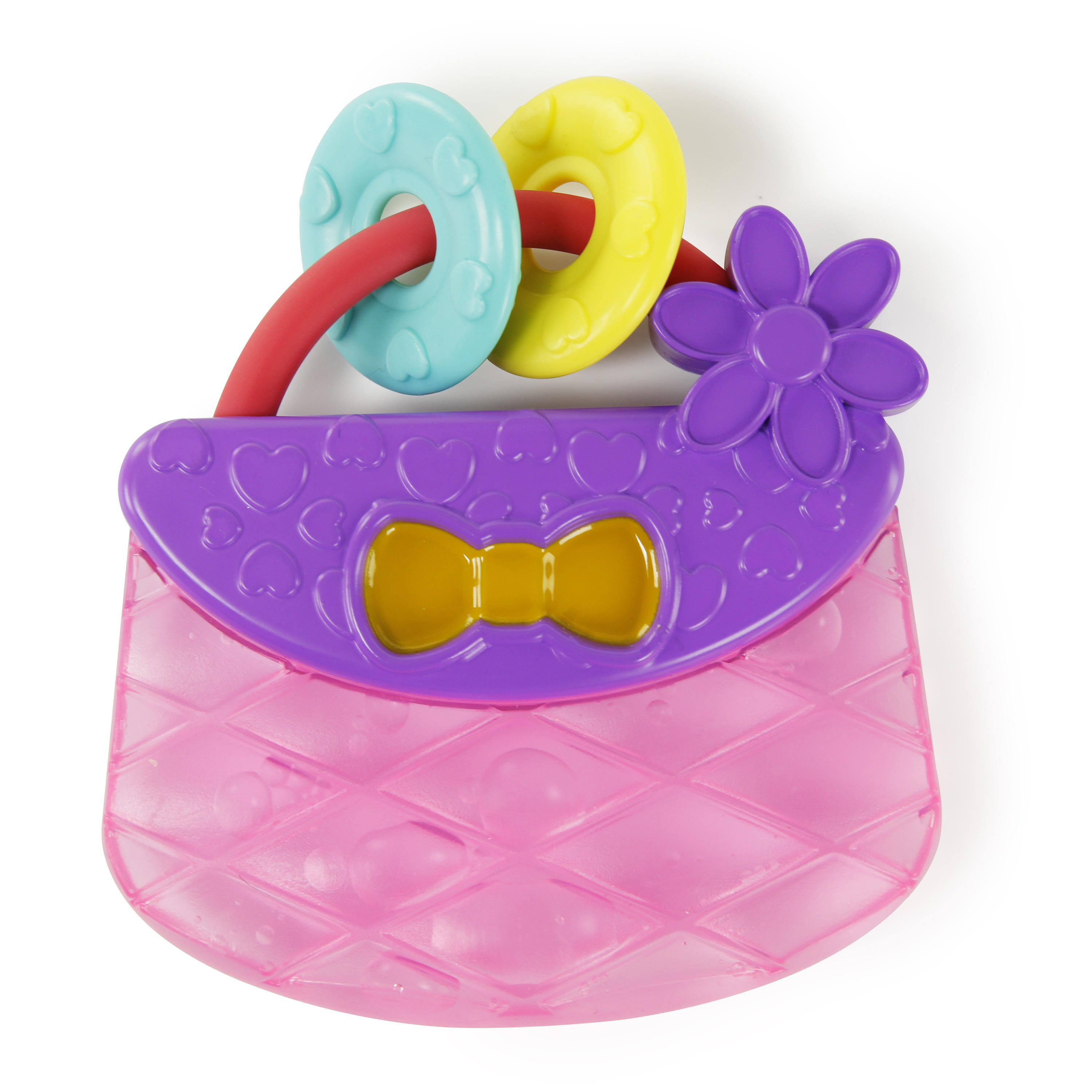 Bright Starts Carry & Teethe Purse Toy