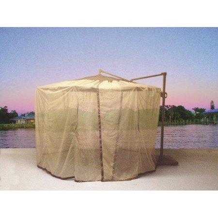 Shade Trend Cantilever Mosquito Net Umbrella