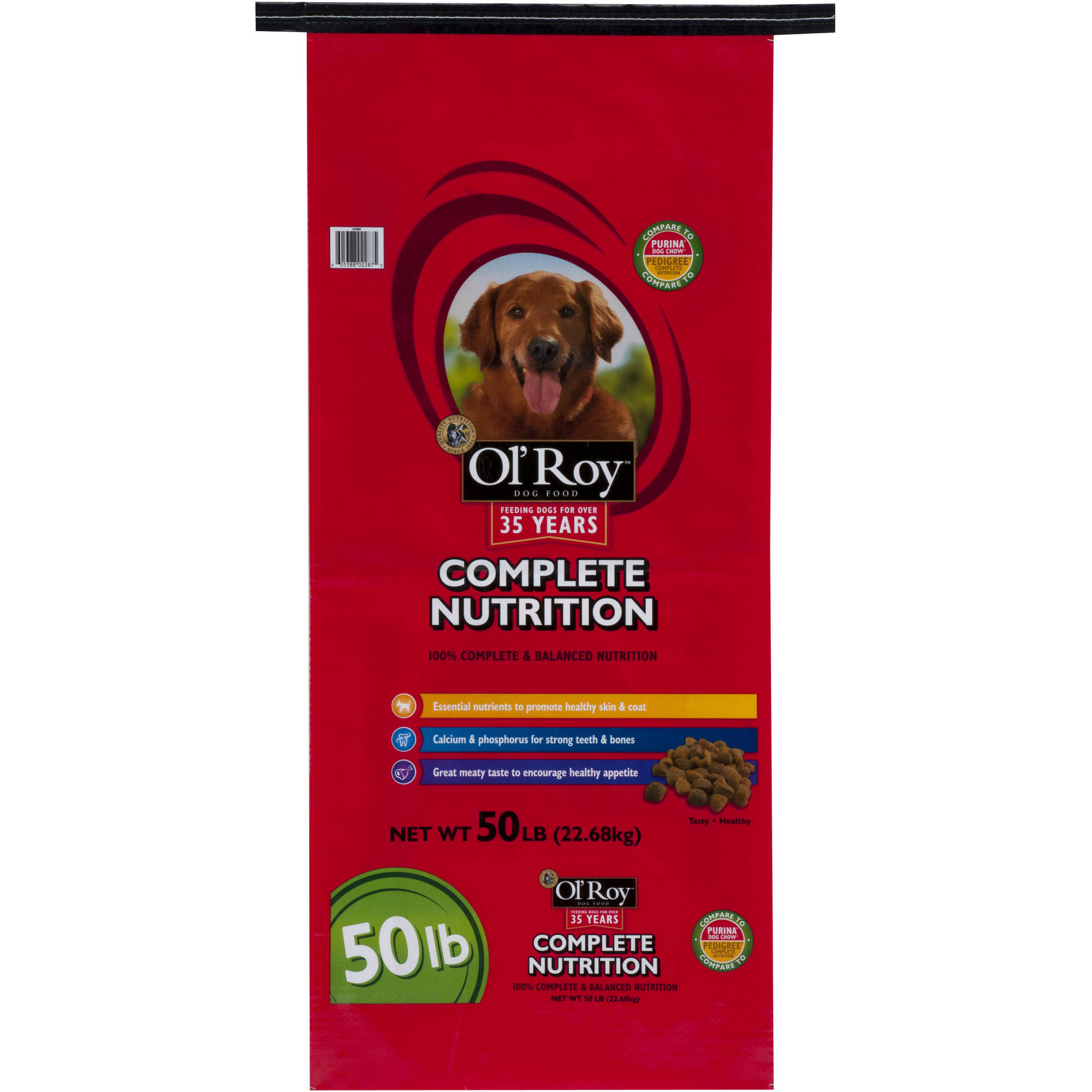 Ol' Roy Complete Nutrition Dog Food, 50 lb