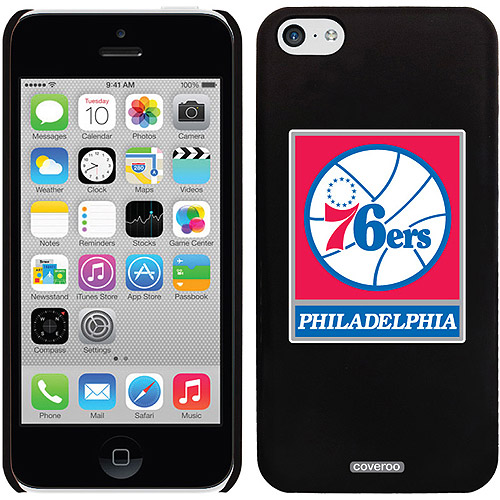 Philadelphia 76ers Design on iPhone 5c Thinshield Snap-On Case by Coveroo