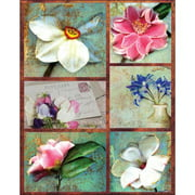 "Penny Black Sticker Sheet 7""X9""-In Bloom"