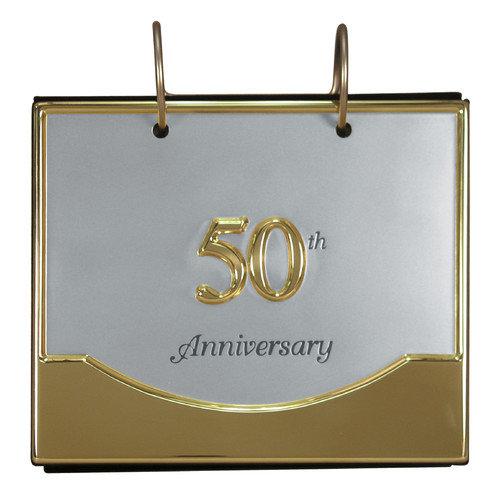 Malden 50th Anniversary Flip Ring Album