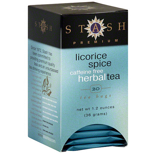 Stash Caffeine Free Herbal Licorice Spice Tea Bags, 20ct (Pack of 6)