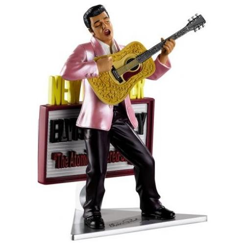 "Carlton Cards Heirloom Musical Elvis Presley ""Hound Dog"" Christmas Ornament"