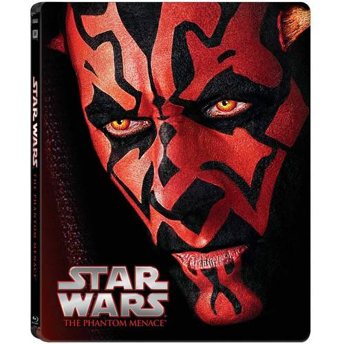 Star Wars: Episode I - The Phantom Menace (Limited Edition Collectible Steelbook) (Blu-ray)