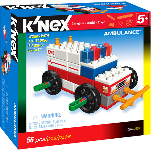 K'NEX Rescue Theme Ambulance