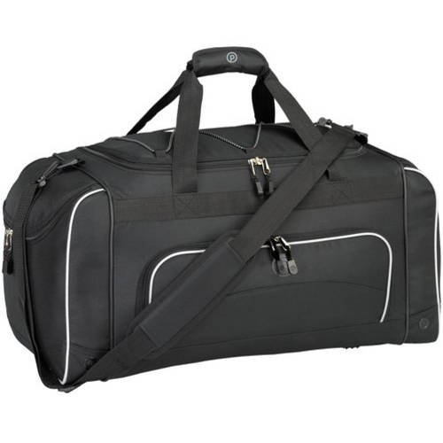 "Prot??g?? 24"" Duffel with Wet Shoe Pocket, Black"