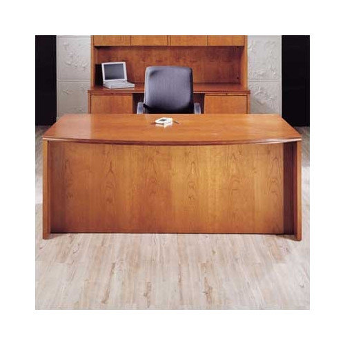 High Point Furniture Forte Bow Front Desk Shell