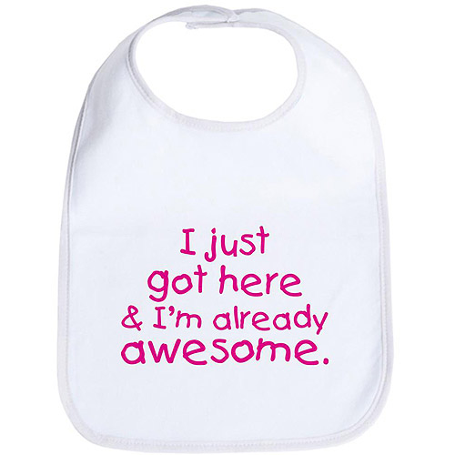 Cafepress Awesome Baby Bib