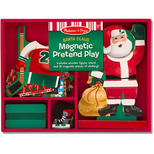 Melissa & Doug Santa Magnetic Dress-Up