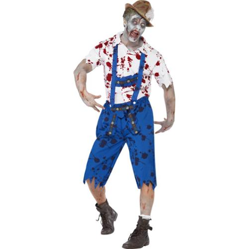 Zombie Beer Bavarian Adult Costume Medium