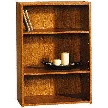 Sauder Beginnings 3 Shelf Bookcase Multiple Finishes