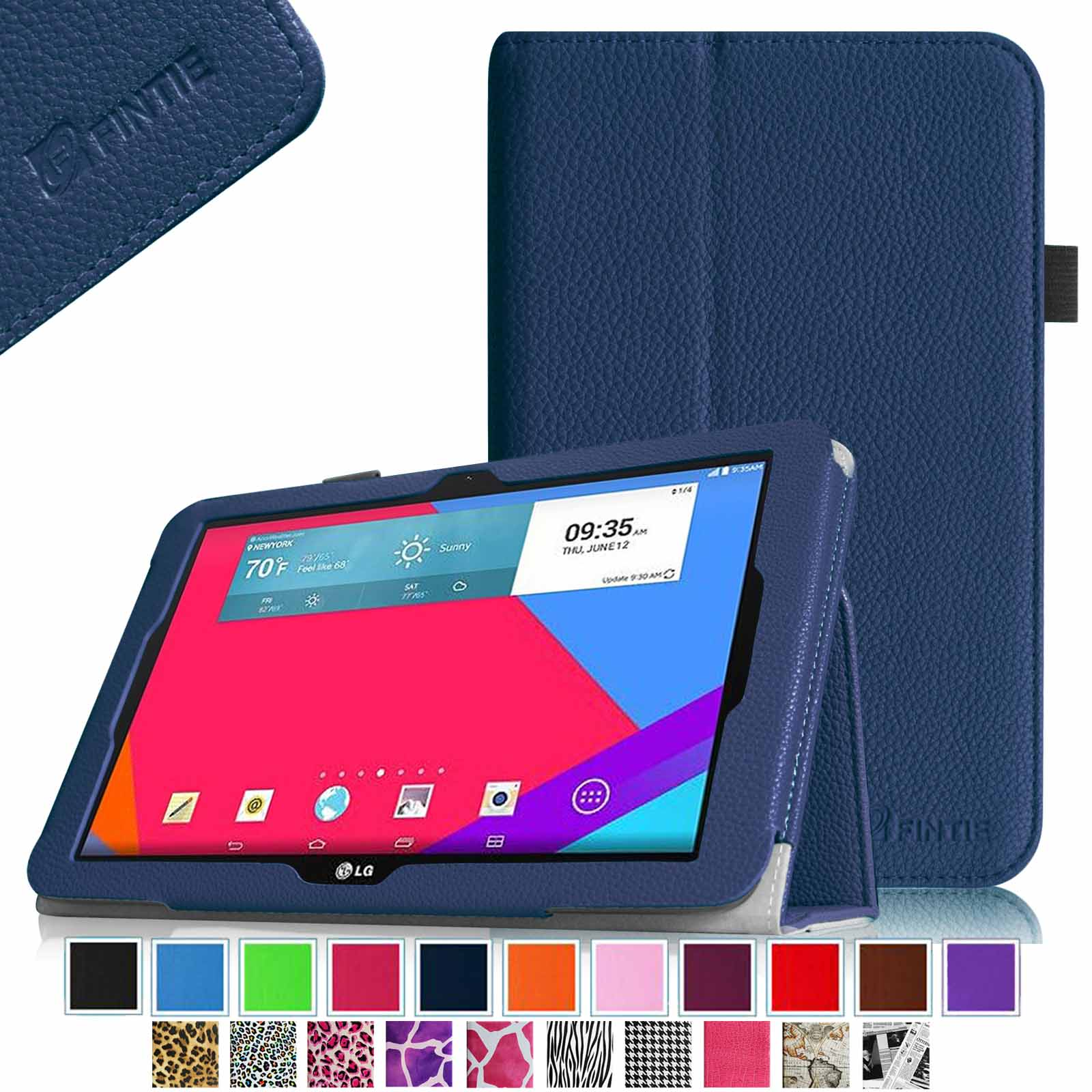 Fintie LG G Pad 10.1 Folio Case - Premium Leather With Auto Sleep \/ Wake for LG G Pad V700 10.1\