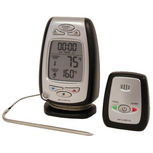 Acurite Digital Meat Thermometer & Timer With Pager 03168 - Fahrenheit, Celsius Reading - Timer, Alarm - For Meat, Oven, Grill, Fryer, Smoker (03168a1)