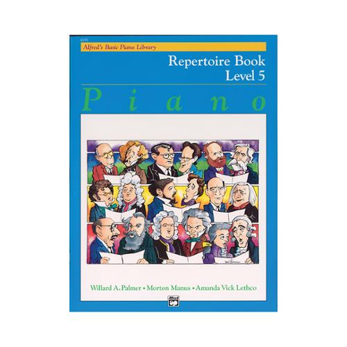 Alfred Alfred's Basic Piano Course Repertoire Book 5