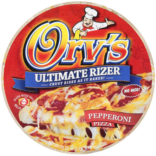Orv's Ultimate Rizer Pepperoni Pizza, 25.7 oz