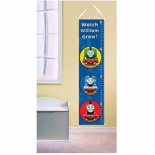 Personalized Thomas and Friends Percy and James Growth Chart