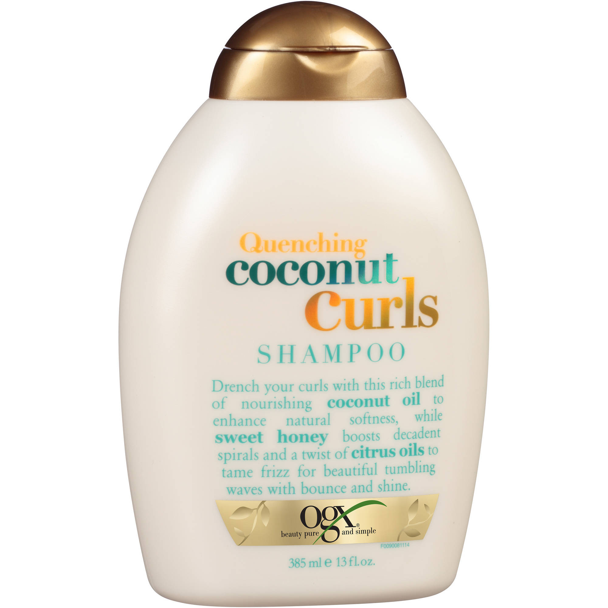 OGX Quenching Coconut Curls Shampoo, 13 fl oz