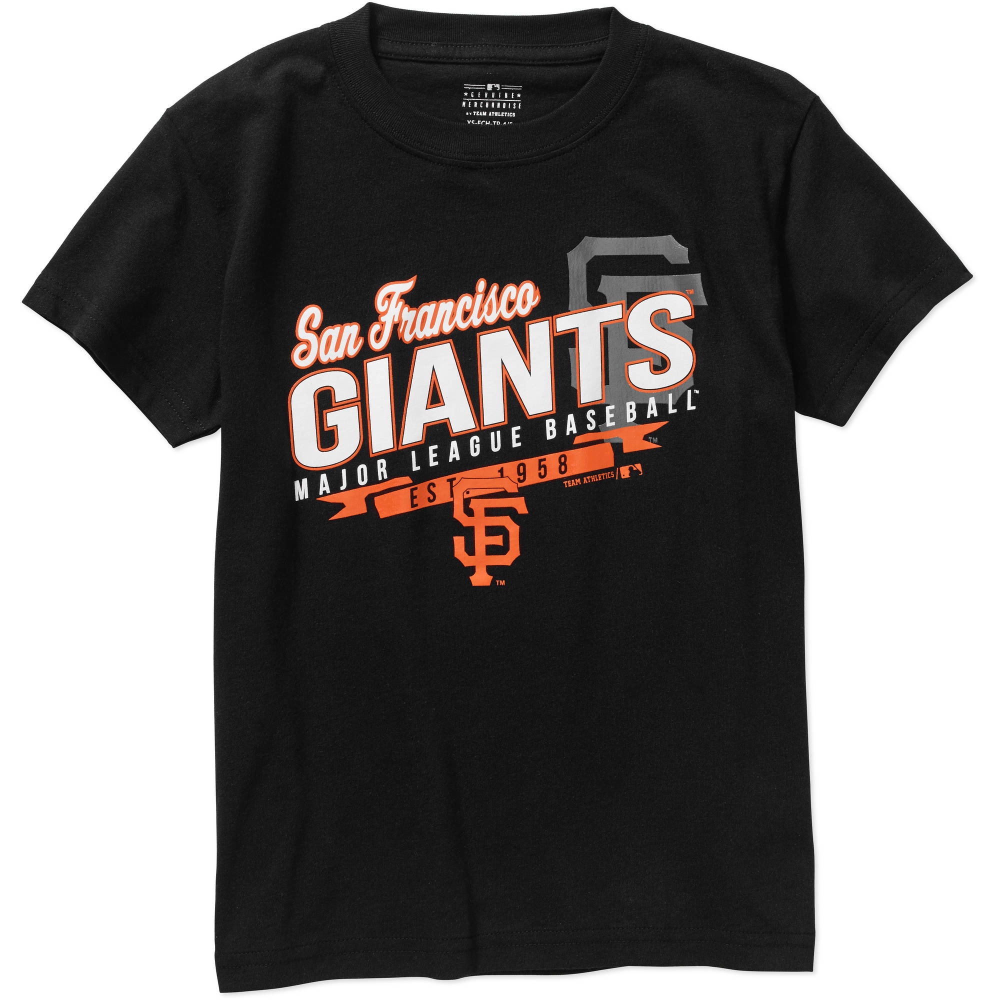 MLB  Boys' San Francisco Giants Team Short Sleeve Tee