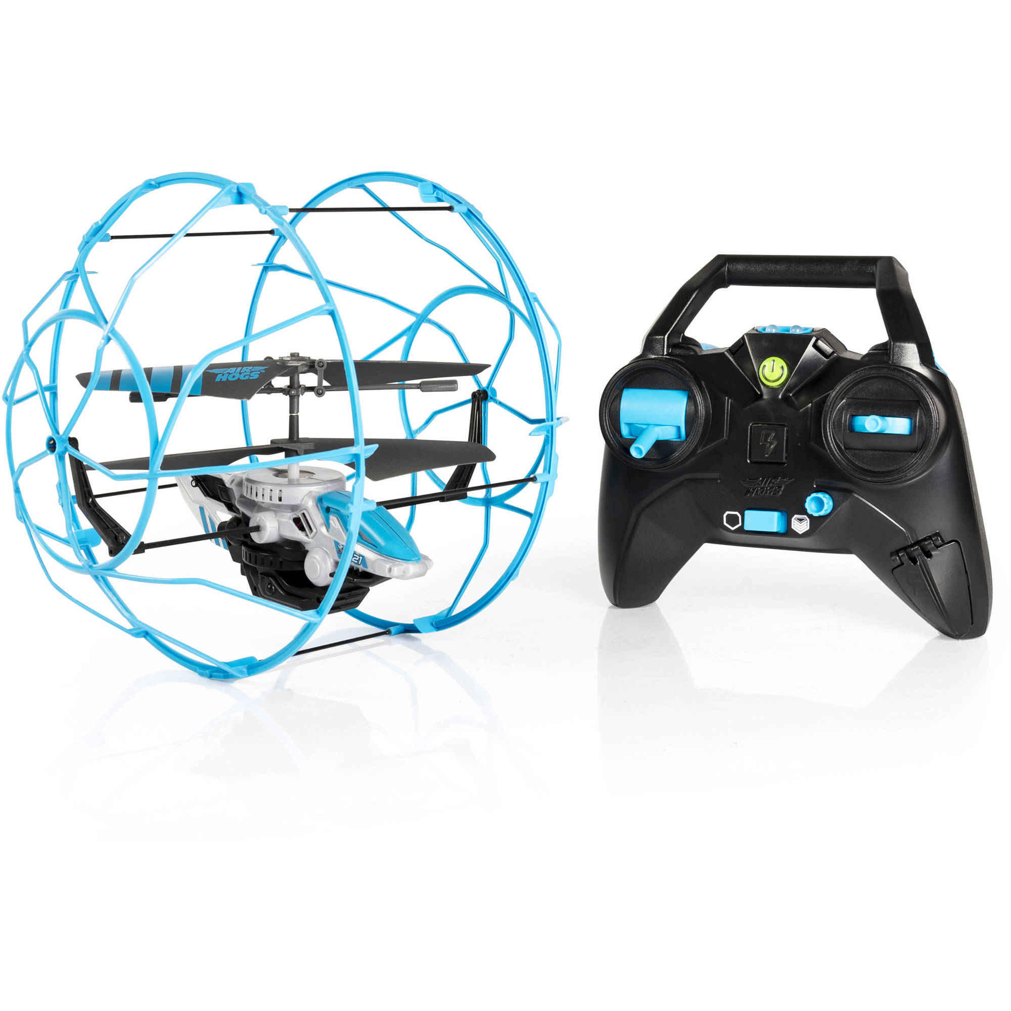 Air Hogs RC Rollercopter, Blue/Silver