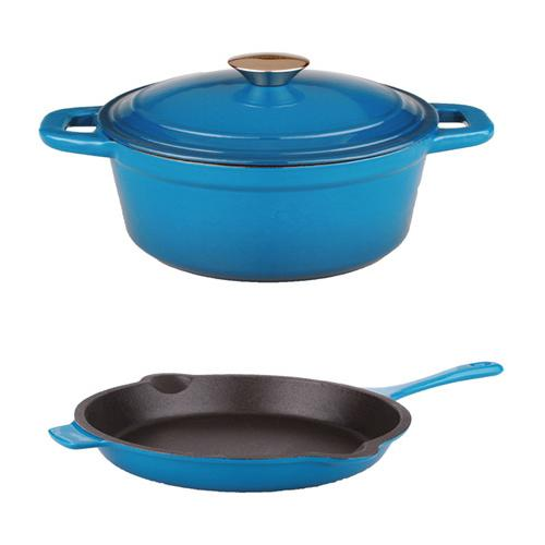 BergHOFF Neo Cast Blue 3-piece Cookware Set