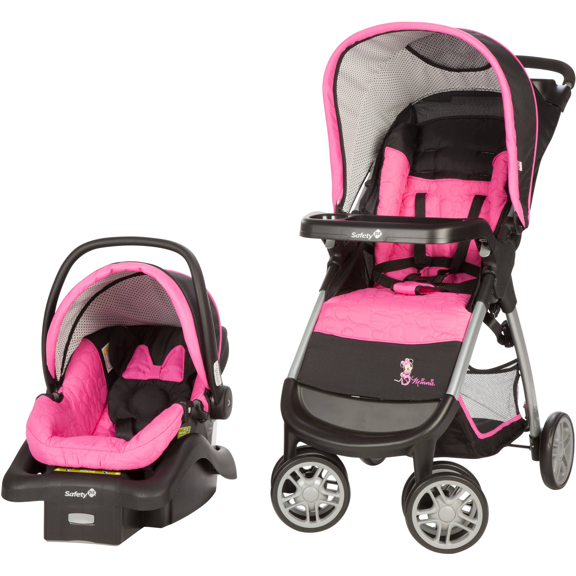 Disney Amble Quad Travel System, Minnie Pop