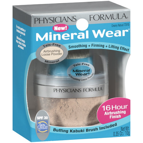 Mineral Wear Talc-Free Airbrushing Mineral SPF 30 Loose Powder, Creamy Natural 7315