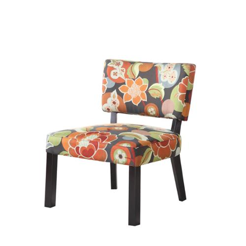 Oh! Home Bianca Bright Floral Print Accent Chair