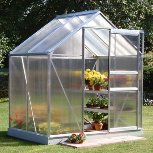 Halls Popular 6 x 4-Foot Greenhouse Kit