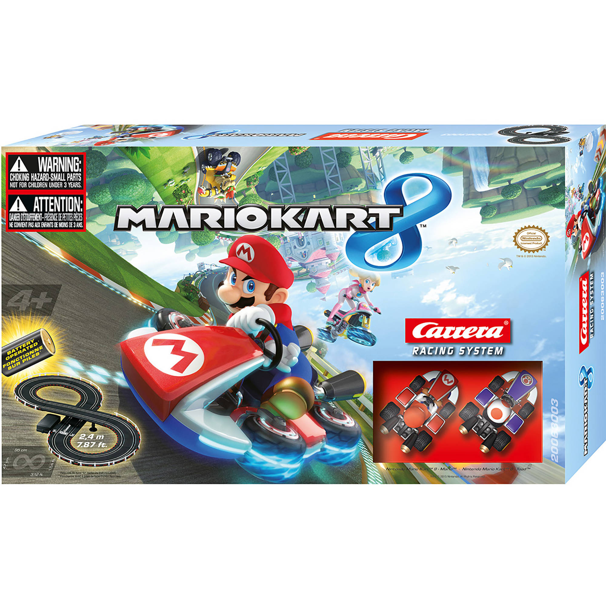 Mario Kart 8 Battery-Operated Road Race Set