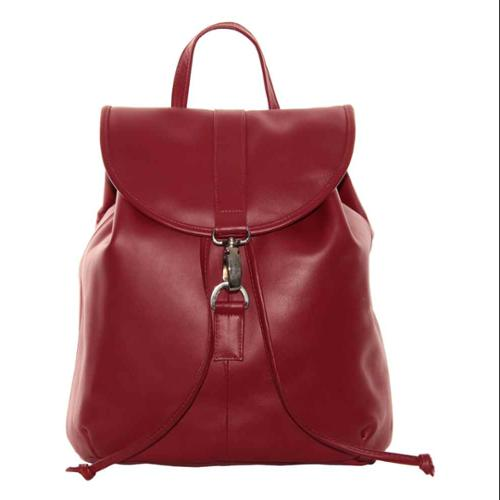 Medium Drawstring Backpack (Red)