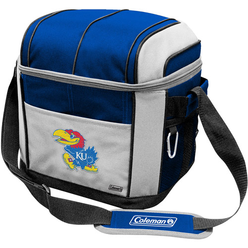 "Coleman 11"" x 9"" x 13"" 24-Can Cooler, Kansas Jayhawks"