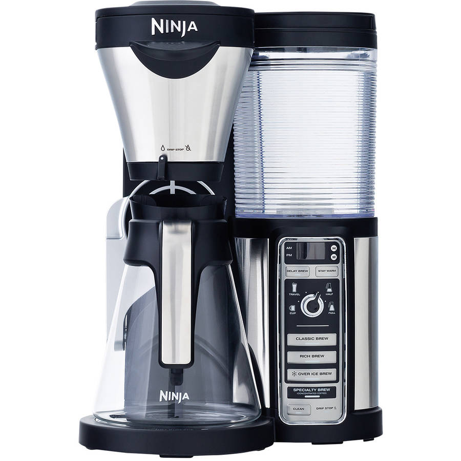 Ninja Coffee Bar Auto-iQ Brewer with Glass Carafe, CF080