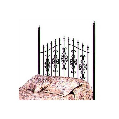 Grace Collection Gothic Gate Metal Headboard