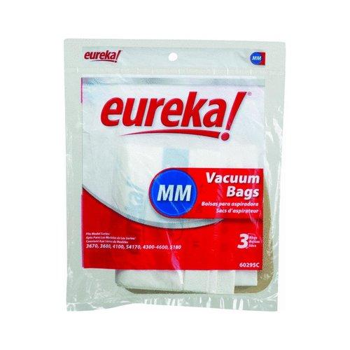 eureka 60295 disposable vacuum dust bags type mm 3 pack